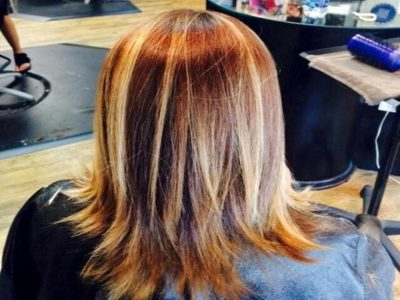 Balayage Highlights by Celeste Iannazzo Salon 5200 Hilton Head