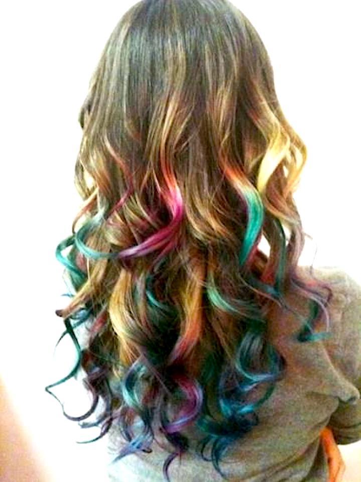 Hair Chalking hair styles by Celeste Iannazzo Salon 5200 Hilton Head