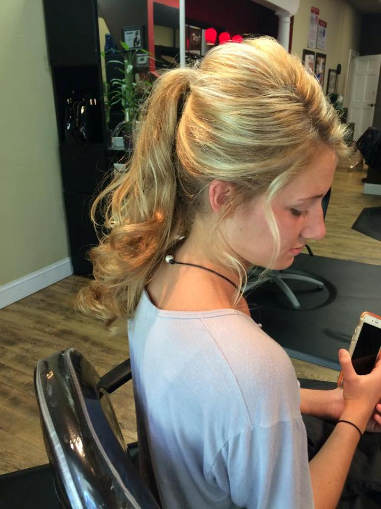 Prom hair styles by Celeste Iannazzo Salon 5200 Hilton Head