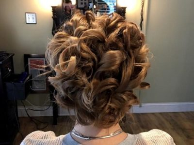 Holiday hair styles by Celeste Iannazzo Salon 5200 Hilton Head