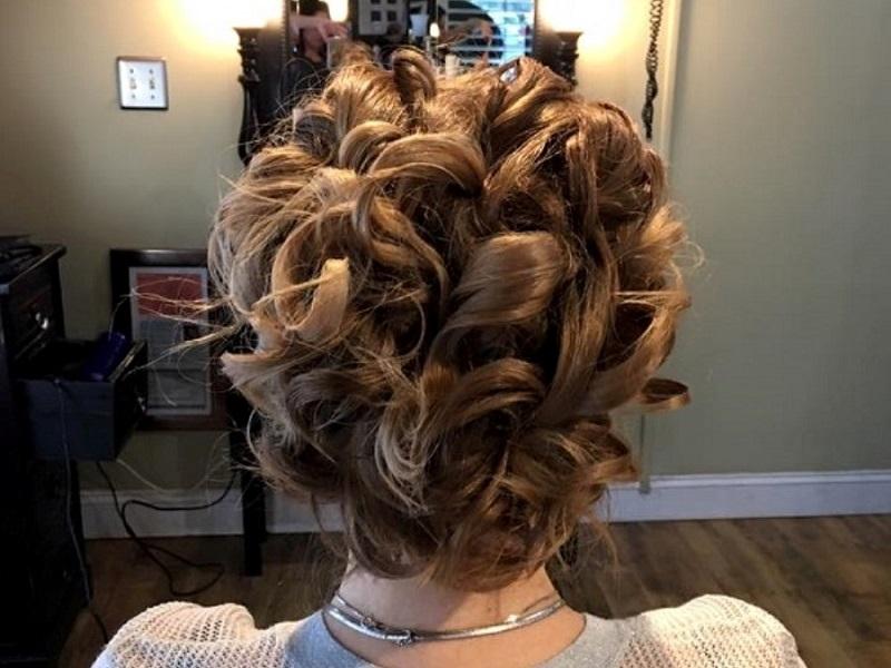 Holiday hair styles by Celeste Iannazzo Salon 5200 Hilton Head