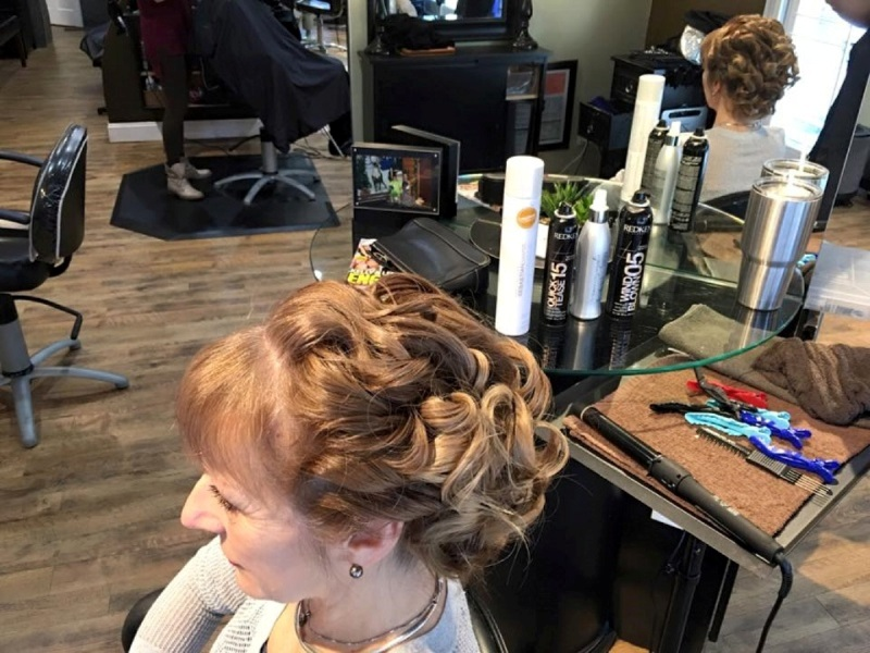 Holiday Hair Styling, Salon 5200 Hilton Head