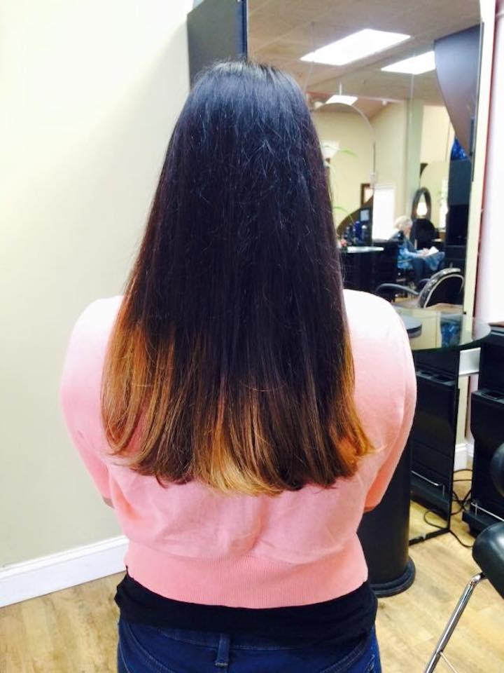 Ombre Hair color by Celeste Iannazzo Salon 5200 Hilton Head Island