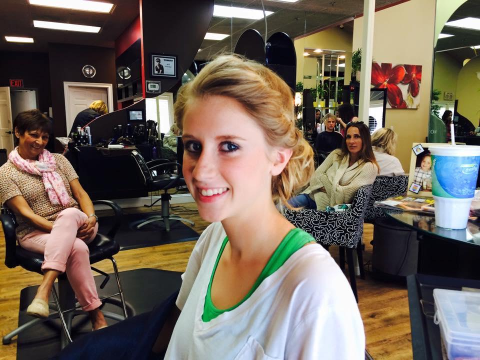 Prom Hair Styles by Celeste Iannazzo Salon 5200 Hilton Head Island