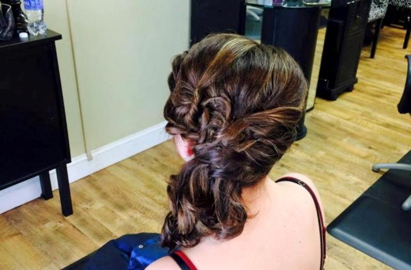 Prom Hair Styling Salon 5200