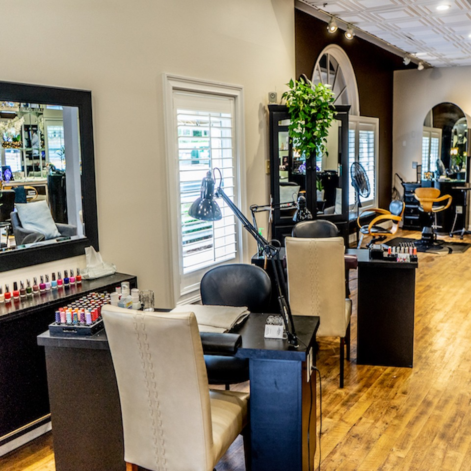 Salon 5200 Best Hair Salon Hilton Head Nail Stations