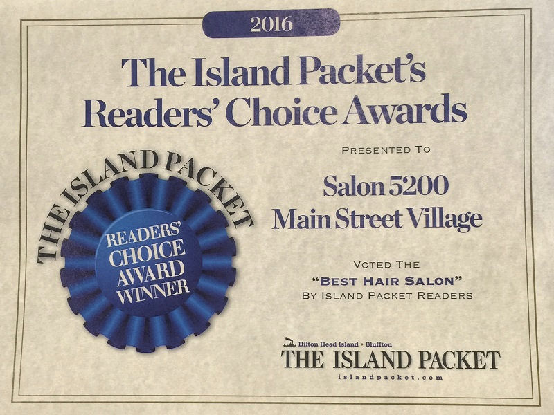 Island Packet Readers Choice Award - Salon 5200