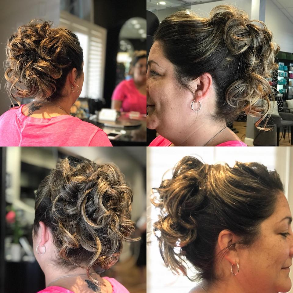 Special Occasion hair styles by Celeste Iannazzo Salon 5200 Hilton Head