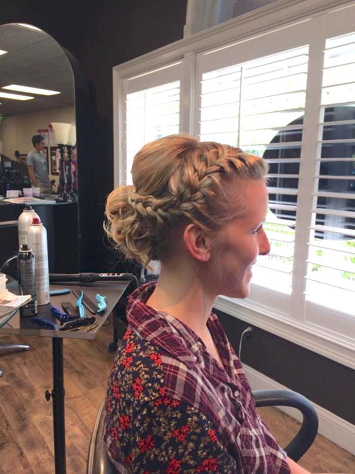 Wedding Hair Styling by Celeste Iannazzo and Gabby Hernandez Salon 5200 Hilton Head Island