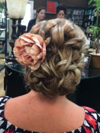 Wedding Hair Styling by Gabby Hernandez Salon 5200 Hilton Head Island