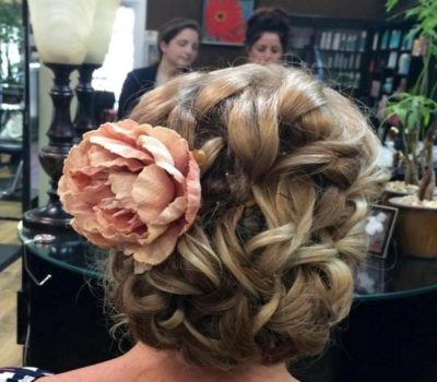 Wedding Hair Styling by Gabby Hernandez Salon 5200 Hilton Head